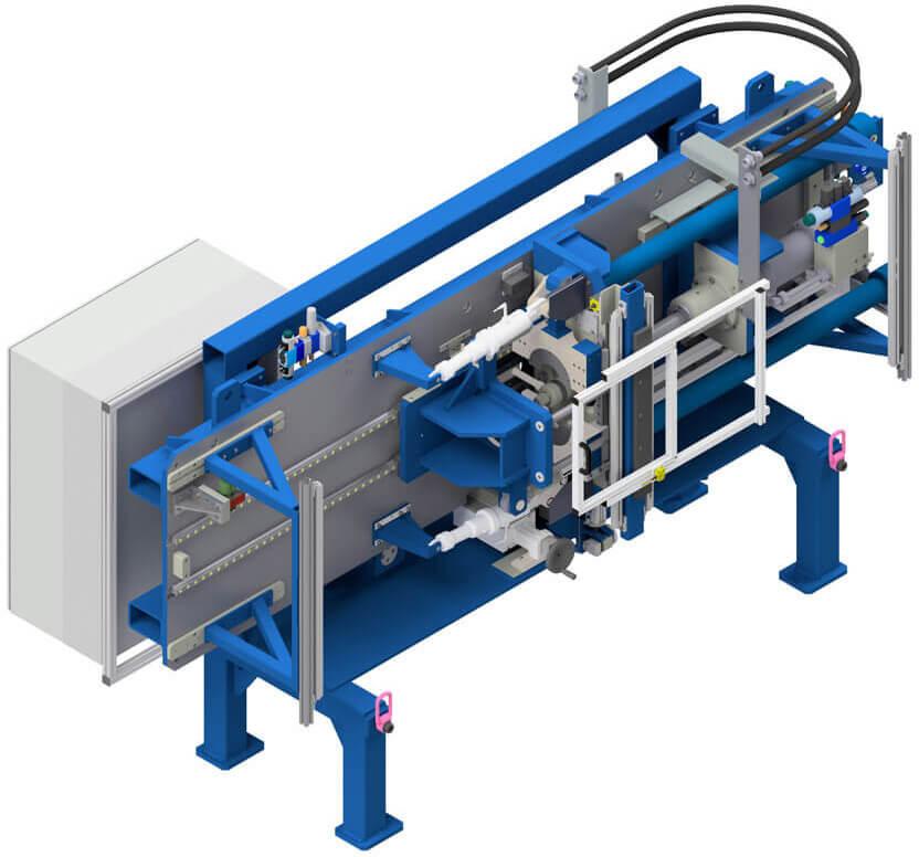 Metallbalgmaschine